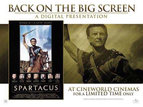 Spartacus At Cineworld
