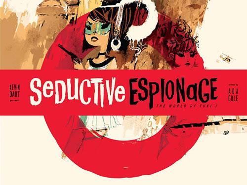 Seductive Espionage: The World of Yuki 7 - Cover
