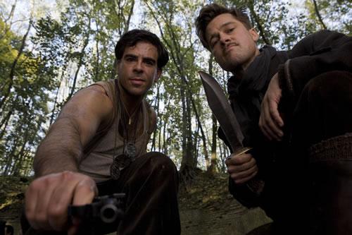 Inglourious Basterds - Brad Pitt, Eli Roth