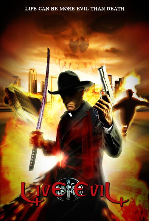 Live Evil - Promotional Poster Art