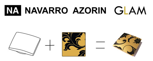 Navarro Azorin's Glam Kitchen Handles