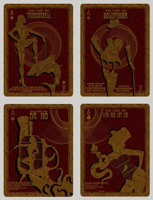 Bond Posters By David O'Daniel