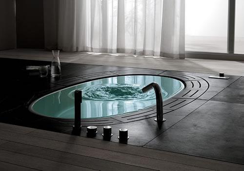 Sorgente Hydrosilence whirlpool jet bathtub