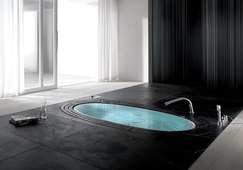 Hydrosilence whirlpool Bathtub