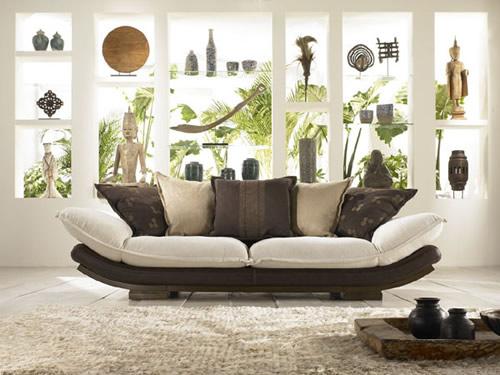Jonque sofa from la maison coloniale breathe modern for La maison coloniale soldes