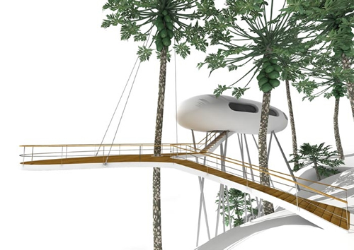 Jungle House Treehouse By Baumraum