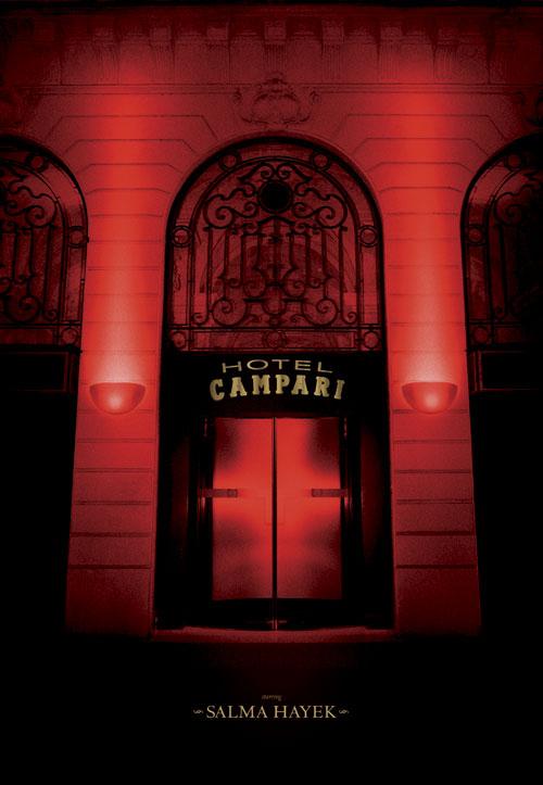 Salma Hayek Campari Calendar - Front