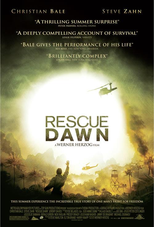 Rescue Dawn - poster