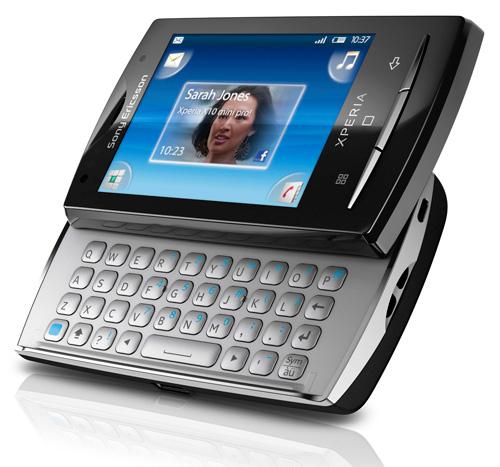 sony ericsson xperia x10 keyboard. Sony Ericsson XPERIA X10 Phone