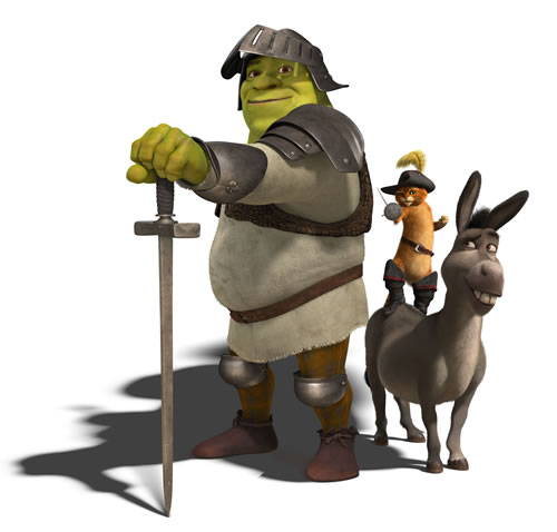 Shrek 3 - style guide images